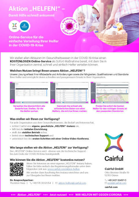 Cairful-Aktion-HELFEN_One-Pager
