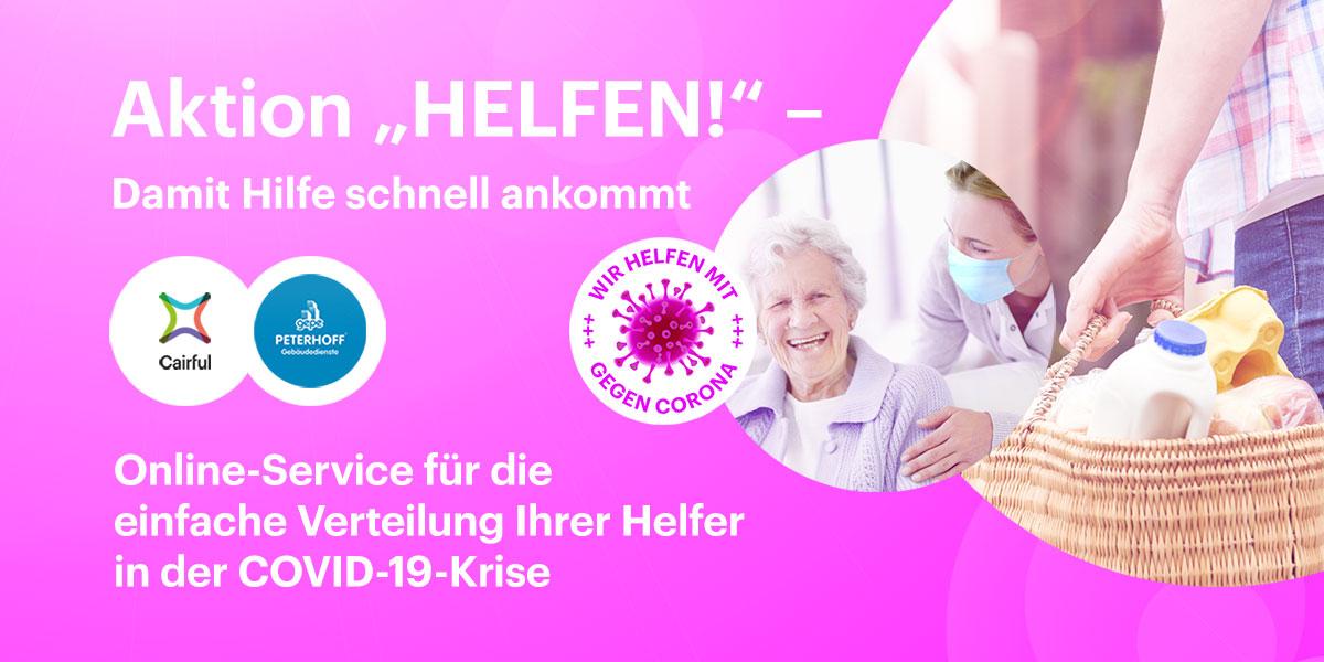 """Cairful startet Aktion """"HELFEN!"""" - Cairful GmbH"""