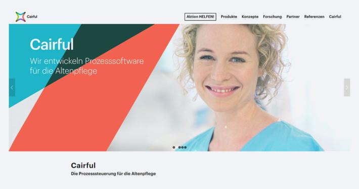 Aktuelles Beitragsbild - Neue Cairful-Website ist live - Cairful GmbH